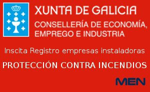 inscrita Registro empresas instaladoras de FIRE PROTECTION