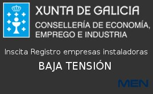 inscrita Registro empresas instaladoras de LOW VOLTAGE